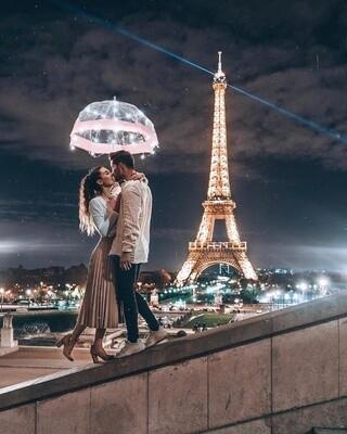 Картина по номерам Paintboy, RDG-3572 Поцелуй в Париже 40х50см