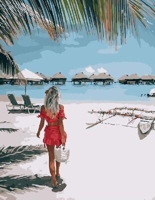 Картина по номерам Paintboy RDG-3204 Райский уголок 40х50 см