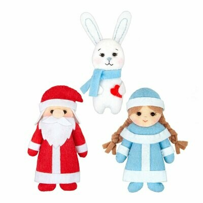 """Набор для изготовления игрушек """"Miadolla"""" TF-0273 Зимняя сказка"""