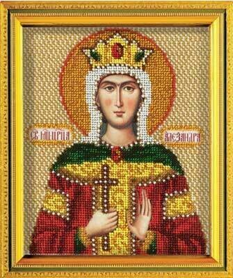 "Набор для вышивания ""Радуга бисера"" №09 В-340 ""Св. Царица Александра"" 12 х 14.5 см"