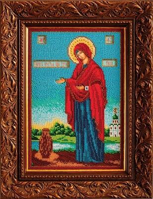 """Набор для вышивания """"Радуга бисера"""" №23 В-196 """"Богородица Геронтисса"""" 18 х 27 см"""