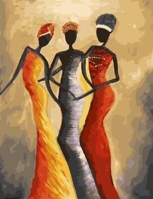 Картина по номерам Paintboy RDG-3022 Африканки 40х50 см