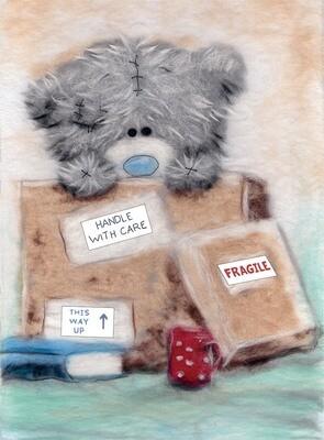 Картина из шерсти MTY-WA-0160