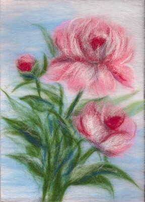 Картина из шерсти WA-0122