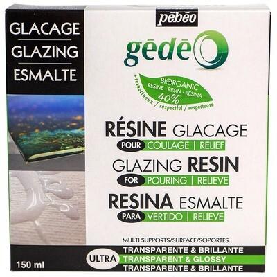 Эпоксидная био-смола с эффектом глазури biOrganic Gedeo 150 мл