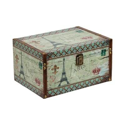 "BBK-01 шкатулка-книга 17 x 11 x 5 см, №081 ""Монстера"""