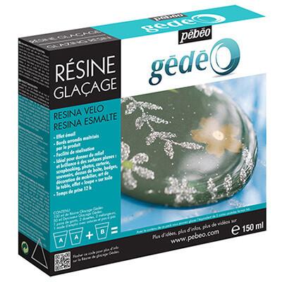 Эпоксидная смола с эффектом глазури Gedeo 150 мл