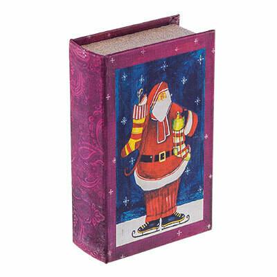 "BBK-01 шкатулка-книга 17 x 11 x 5 см, №059 ""Тропики"""