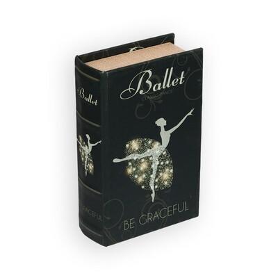 "BBK-01 шкатулка-книга 17 x 11 x 5 см, №071 ""Кактус в колбе"""