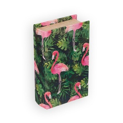 """BBK-01 шкатулка-книга 17 x 11 x 5 см, №063 """"Птица на ветке"""""""
