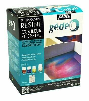 Набор цветных эпоксидных смол Gedeo 150 мл