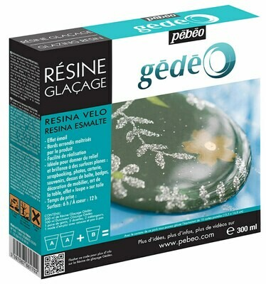 Эпоксидная смола с эффектом глазури Gedeo 300 мл