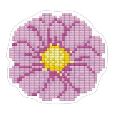"""Алмазная вышивка 8х9см""""ФРЕЯ"""" ALVM-019 магнит """"Цветочек""""ALVM-019"""
