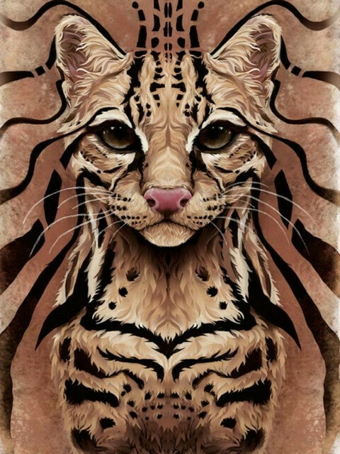 Картина по номерам Paintboy Original Королева кошек GX 22052 40х50см