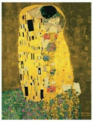 Картина по номерам GX 21783 Поцелуй (Климт) 40*50