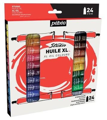 """Краска масляная """"PEBEO"""" набор XL 24 цв. 12 мл"""