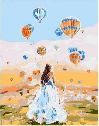 Картина по номерам PKC 76013 Там, где рождаются мечты (Логинова Аннет) 30х40см