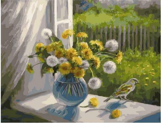 Картина по номерам PK 79014 Время цветения одуванчиков (Воробьёва Ольга) 40х50см