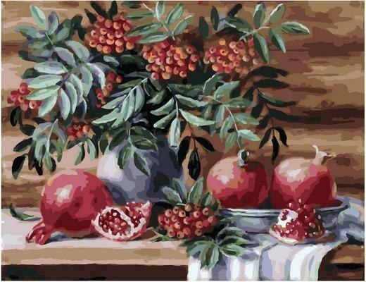 Картина по номерам PK 79015 Два вкуса красного (Воробьёва Ольга) 40х50см
