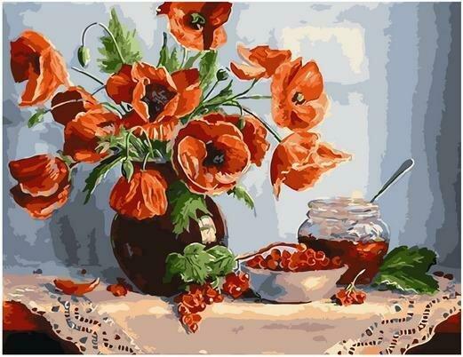 Картина по номерам PK 79053 Смородиновое варенье (Воробьёва Ольга) 40х50см
