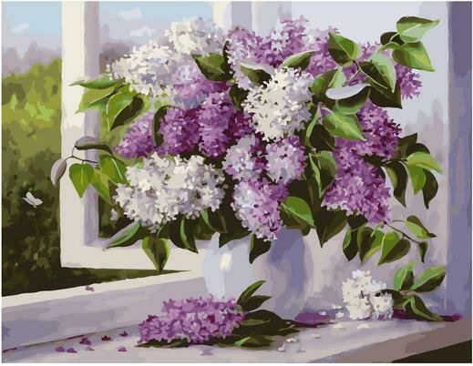 Картина по номерам Премиум PK 79001 Аромат весны (Воробьёва Ольга) 40х50см