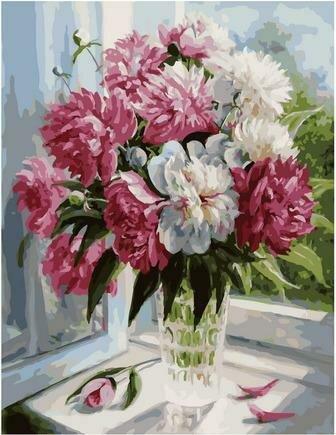 Картина по номерам PK 79018 Когда цветут пионы (Воробьёва Ольга) 40х50см