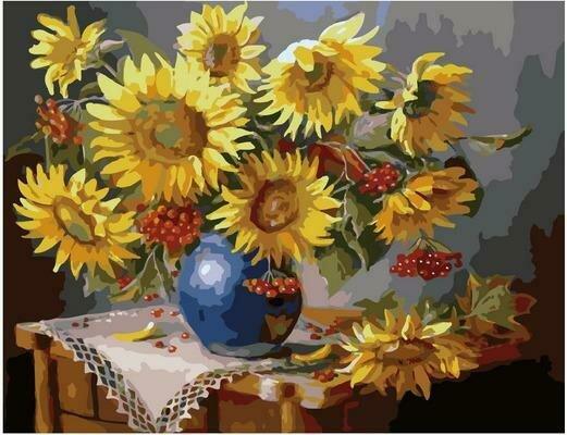 Картина по номерам PK 79043 Подсолнухи (Воробьёва Ольга) 40х50см