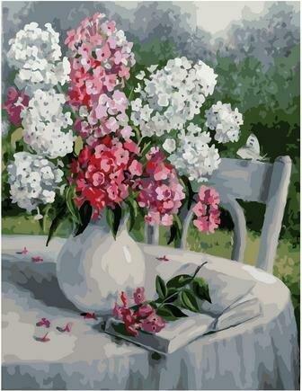 Картина по номерам PK 79048 Садовая поэзия (Воробьёва Ольга) 40х50см