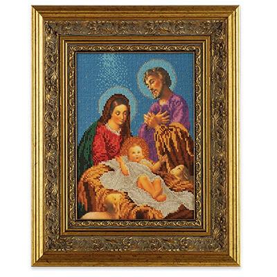 """Набор для вышивания """"Радуга бисера"""" №05 В-189 """"Рождество Христово"""" 19 х 27 см"""