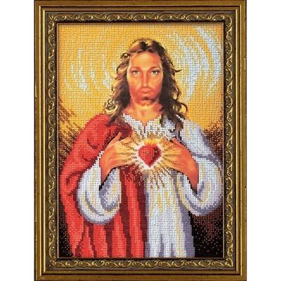 """Набор для вышивания """"Радуга бисера"""" №05 В-193 """"Иисус Христос"""" 19 х 27 см"""