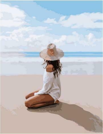 Картина по номерам Paintboy PK 85009 Завораживающее побережье 40х50 см