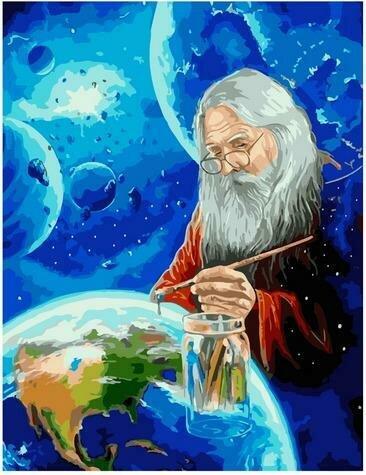 Картина по номерам Paintboy PK 85033 Создатель 40х50 см