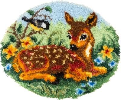 """Набор для вышивания """"PANNA"""" KI-1883 (КИ-1883) """"Коврик Олененок"""""""