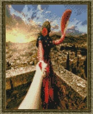 Алмазная мозаика ВанГогВоМне EQ 10372 Следуй за мной. Испания 30х40 см