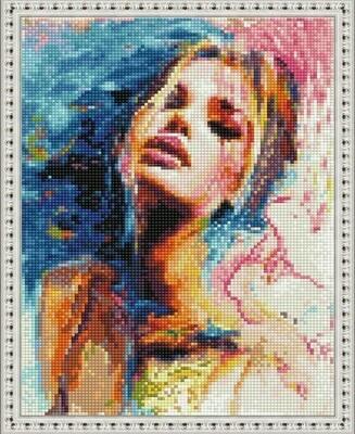 Алмазная мозаика ВанГогВоМне EQ 10308 Женственность 30х40 см