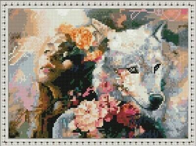 Алмазная мозаика ВанГогВоМне EQ 10379 Идиолатрия (худ. Димитра Милан) 30х40 см