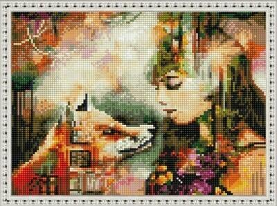Алмазная мозаика ВанГогВоМне EQ 10380 Сновидение (Димитра Милан) 30х40 см