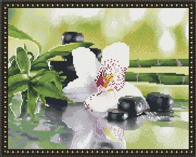 Алмазная мозаика ВанГогВоМне EW 10152 Японский натюрморт 40х50 см