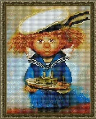 Алмазная мозаика ВанГогВоМне EQ 10385 Ангел- морячок 30х40 см