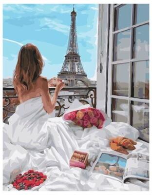 Картина по номерам PK 38056 Маленькие прелести утра 40*50