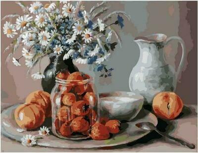 Картина по номерам PK 79024 Летний десерт (Воробьёва Ольга) 40х50см