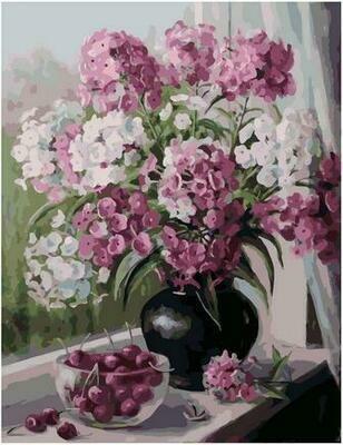 Картина по номерам PK 79031 Мамины любимые цветы (Воробьёва Ольга) 40х50см