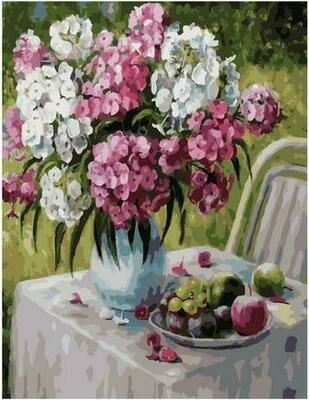 Картина по номерам PK 79057 Флоксы в моем саду (Воробьёва Ольга) 40х50см
