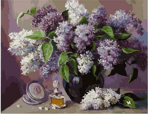 Картина по номерам PK 79020 Легкость живого аромата (Воробьёва Ольга) 40х50см