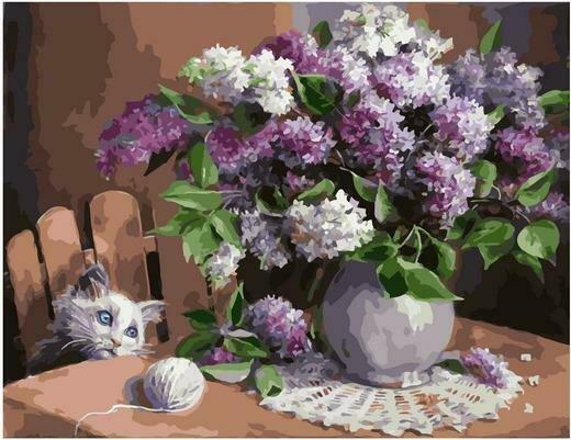 Картина по номерам PK 79032 Мечтатель (Воробьёва Ольга) 40х50см