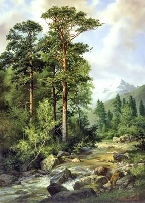 Картина по номерам 40х50см - Дикая природа