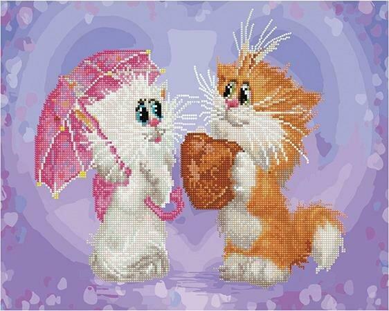 Картина по номерам Paintboy + мозаика PKZS 76002 Признание (Долотов Алексей) 40x50см