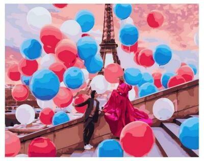 Картина по номерам Paintboy GX 37800 Воздушный Париж 40x50см