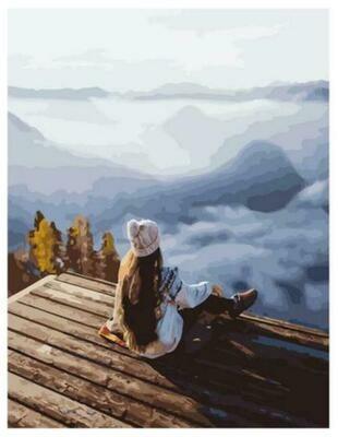 Картина по номерам Paintboy GX 37835 Мостик на великой высоте 40x50см