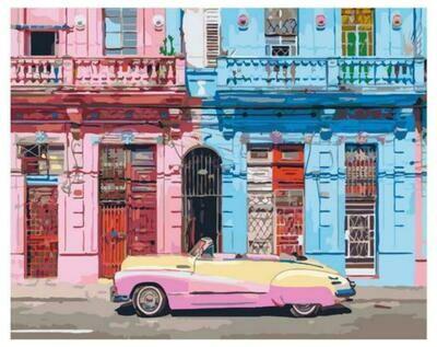 Картина по номерам Paintboy GX 37556 Старая Гавана 40x50см